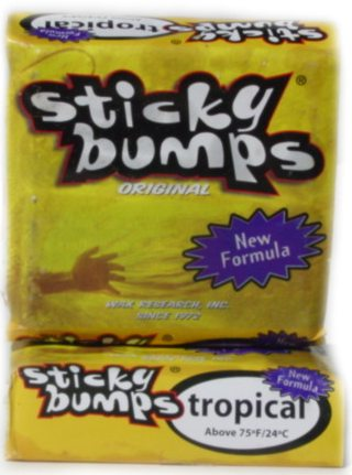 STICKY BUMPS TROPICAL WAX