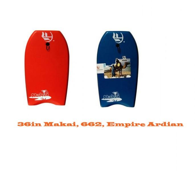 662/EMPIRE ARDIAN/MAKAI BODYBOARDS 36in