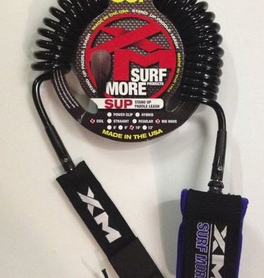 XM 10FT COIL SUP LEASH W/O POWER CLIP