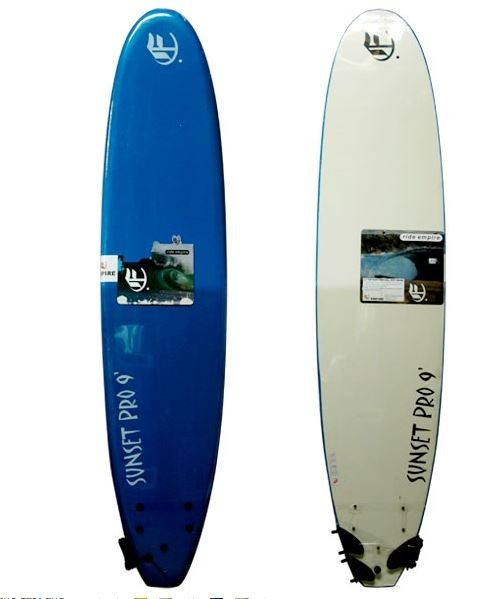 EMPIRE SUNSET PRO 9ft SOFT SURFBOARD