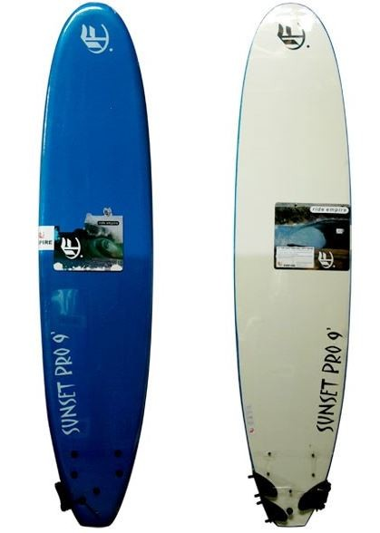 EMPIRE SUNSET PRO 7ft SOFT SURFBOARD