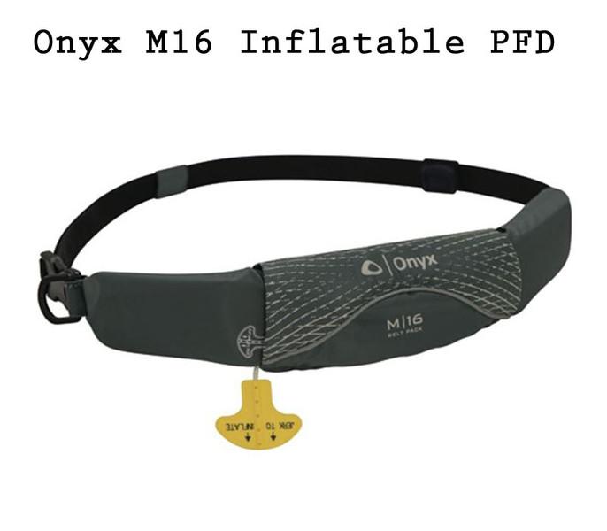 ONYX M16 NO C'EM INFLATABLE PFD