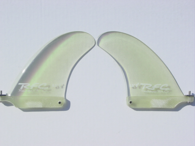 BIO-HAZARD TWIN FINS W/STD