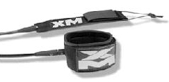 "XM ""REGULAR"" 9ft LEASH"