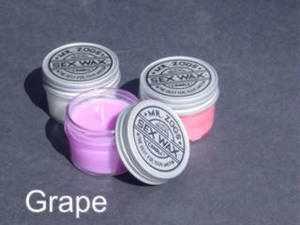 ZOG CANDLE WAX GRAPE SENT