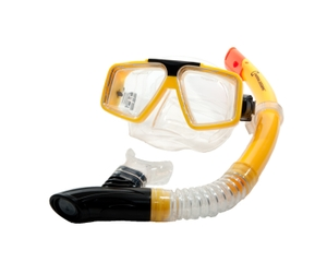 NATIONAL GEO. SNORKEL  SET..(MASK & SNORKEL)
