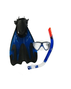 NATIONAL GEO. SNORKEL KIT ..(MASK, SNORKEL,FINS)