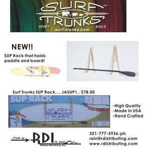 SUP SURF TRUNK WALL RAX