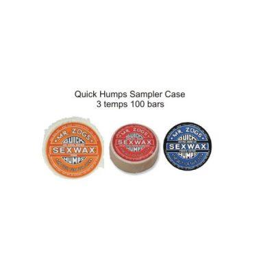 QUICK HUMPS SAMPLER CASE