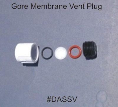 Gore Membrane Vent Plug