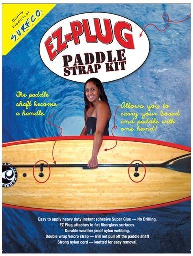 SURF CO EZ PLUG PADDLE STRAP KIT