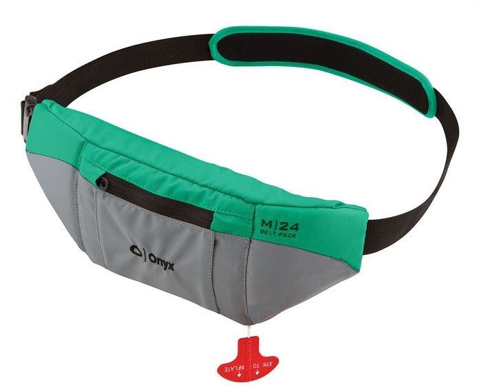 ONYX INFLATABLE PFD AQUA COLOR