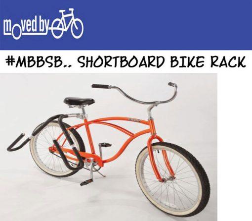MOVED BY BIKES SHORT BOARD SIDE BIKE RACK