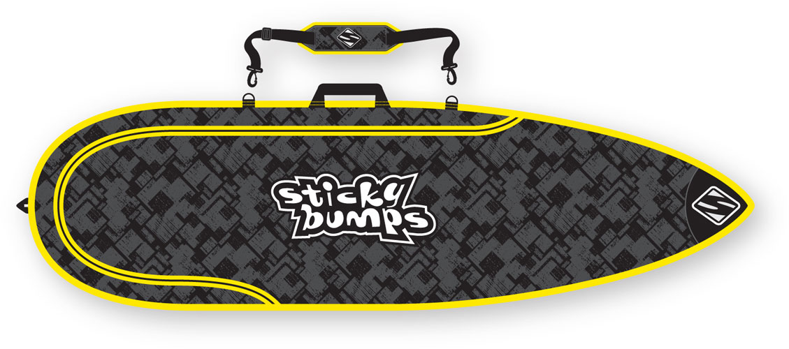 "STICKY BUMPS 7'6""  SING. BAG"